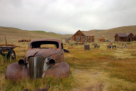 1930er Buick, Bodie State Historic Park. (39.161 Byte)